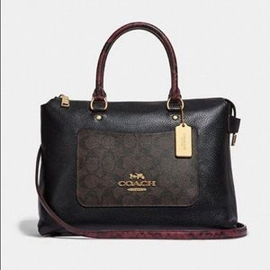 Coach Large Emma Satchel Bag